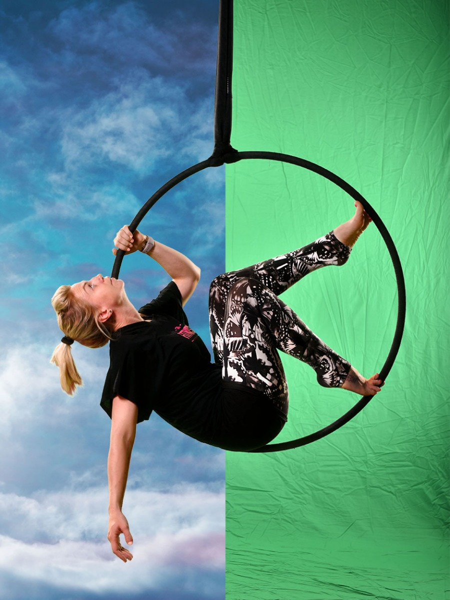 hoop-green-screen